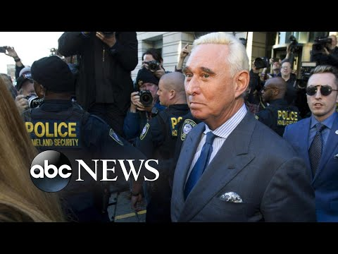 Firestorm over Roger Stone case as President Trump bashes prosecutors l ABC News