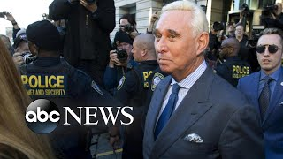 Firestorm over Roger Stone case as President Trump bashes prosecutors l ABC News