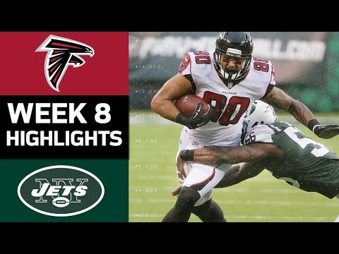 Falcons vs. Jets | NFL Week 8 Game Highlights
