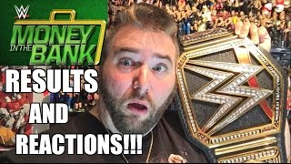 GRIMS WWE MONEY IN THE BANK 2016 REACTIONS and FULL SHOW REVIEW!