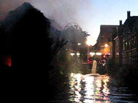 Brand Alphen aan den Rijn Prins Hendrikstraat