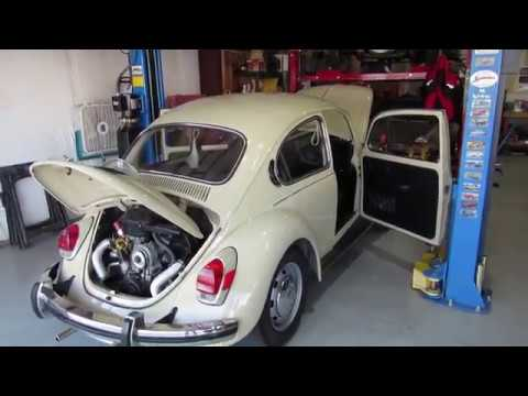 1971 VW Super Beetle Donor Car for EVWest Conversion to Electric Drive