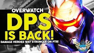 Overwatch - The RETURN of DPS Heroes! (PTR Meta Analysis)