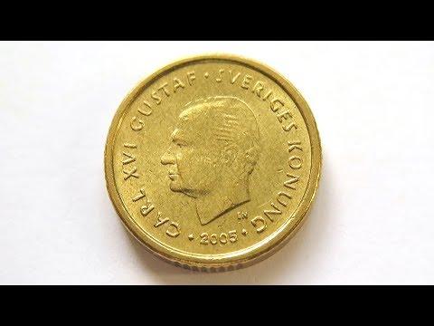 10 Swedish Krona Coin :: Sweden 2005