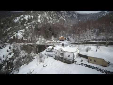 Dronefilm fra Sagen i Balestrand