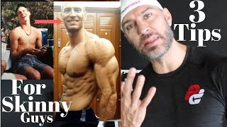 3 Tips For Skinny Guys To Build Muscle