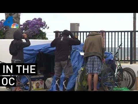 Homeless Encampment Upsets OC Resident | NBCLA
