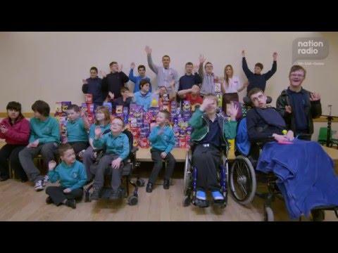 Nation Radio Easter Egg Appeal 2016: Heronsbridge School Bridgend