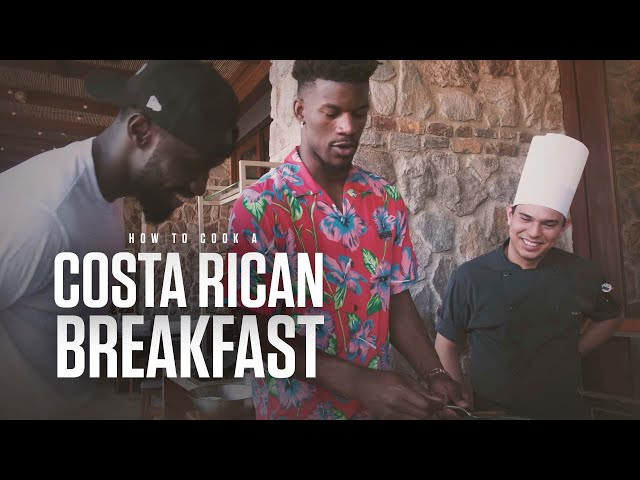 Remy dont ... | Jimmy tries ep4: Cooking a Costa Rican breakfast