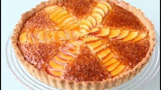 грушевый пирог (яблочный) Pear & Almond Tart