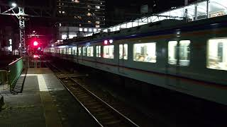 南海高野線堺東駅1000系(1002編成)急行なんば行 停車