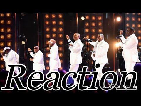 New Edition BET Lifetime Achievement Award 2017 Reaction