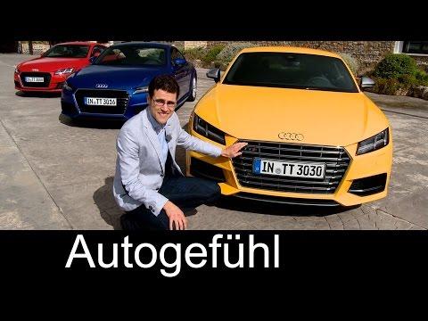 2015/2016 all-new Audi TT & Audi TTS Coupé review test drive with Ascari racetrack - Autogefühl