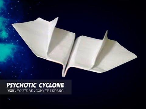 Cách gấp máy bay giấy cực dễ – Bay như là Boomerang – Bay ngược lại