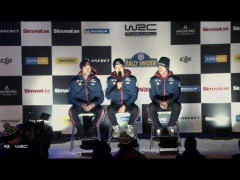 WRC - Rally Sweden 2018: MEET THE TEAMS Friday