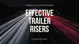 ✅ Sample Pack   Effective Trailer Risers   Federico Soler Fernández