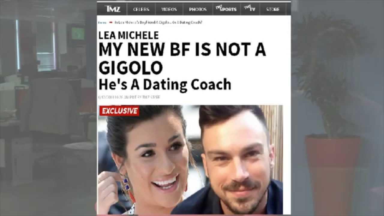 Lea michele dating gigolo
