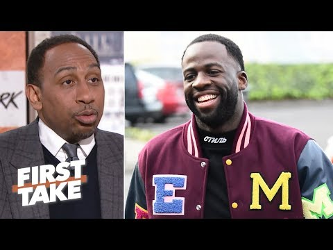 Draymond Green's interest in Klutch Sports isn't just because of LeBron – Stephen A. | First Take