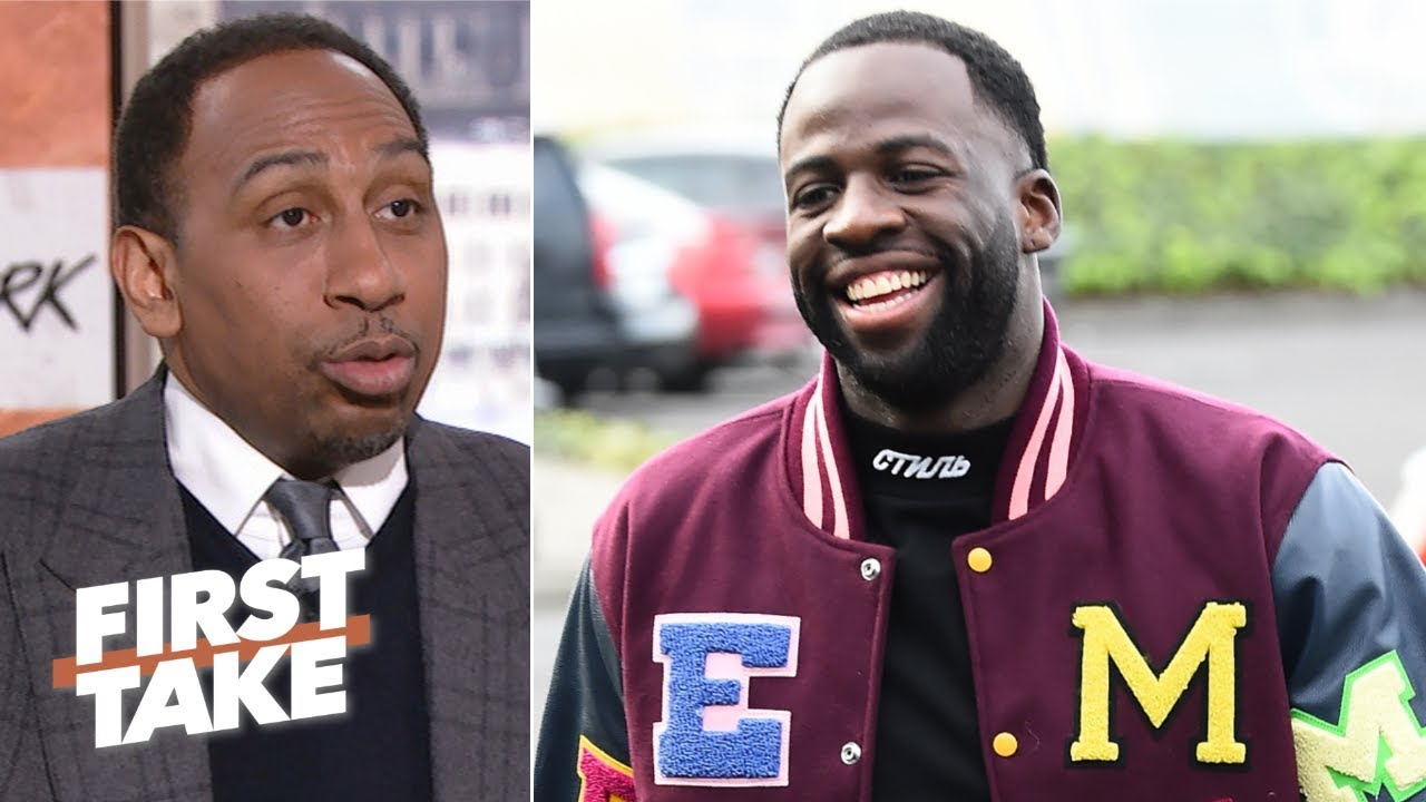 127e331f442d Draymond Green s interest in Klutch Sports isn t just because of LeBron –  Stephen A.