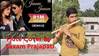 Janam Janam - Flute Cover   Dilwale   #saxamprajapati