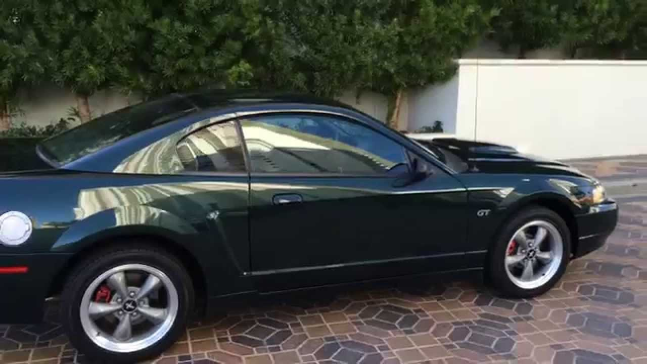 2001 ford mustang bullitt special edition only 1400 miles at youtube. Black Bedroom Furniture Sets. Home Design Ideas