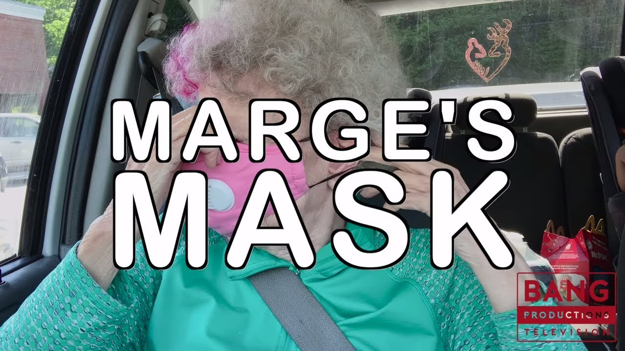 MARGE & IN CHARGE: MARGE'S MASK - MONEY FUNNY LAUGH