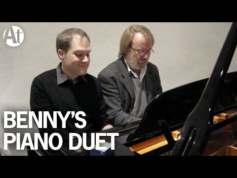 ABBA Benny Andersson 'Money' piano duet at...