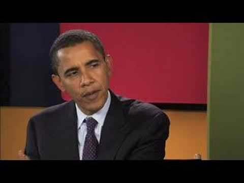 The YouTube Interview: Barack Obama
