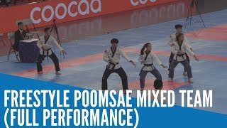 SEA Games 2019: PH's freestyle poomsae mixed team l (FULL PERFORMANCE)