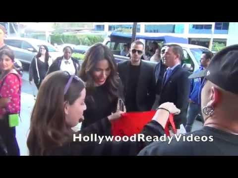 Daniella Alonso greets  arriving at the Road to Hope charity event in West Hollywood