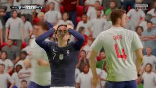 İngiltere - Fransa FIFA 19 PS4 PRO 4K Farkıyla