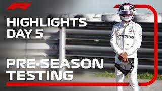2020 Pre-Season Testing: Day 5 Highlights
