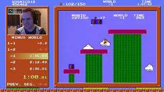 [WR] SMB1 Minus World Ending Speedrun in 2:33.587