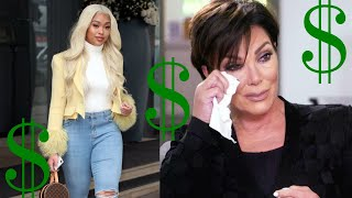 Jordyn Woods getting MAJOR deals -- learned from the best: Kris Jenner
