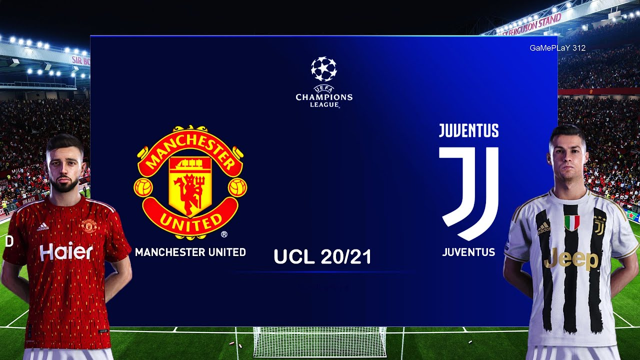 Pes 2020 Manchester United Vs Juventus Uefa Champions League Ucl Gameplay Pc C Ronaldo Vs Mu Youtube