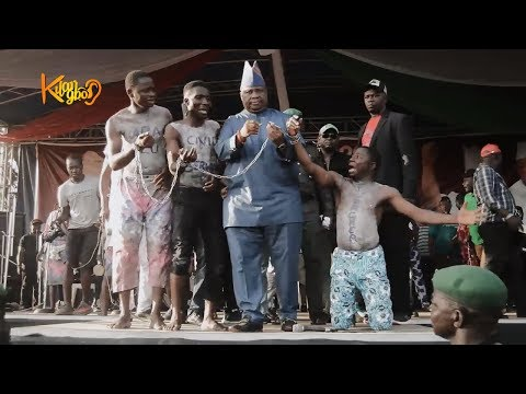 Davido's Uncle, Ademola Adeleke, Unlocks Crowd in the most savage way at PDP Campaign In Ire, Osun