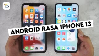 Tutorial to Change the Look of Android to be Like iPhone 13 iOS 15 screenshot 4