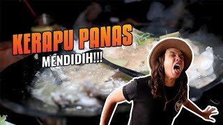 SADIS!!! Makan Ikan Kerapu MASIH PANAS MENDIDIH