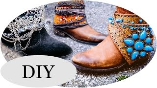 Diy Boho Boots! 5 Stiefel Styles Für Den Herbst!