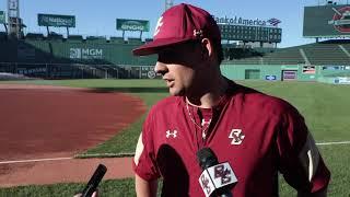 Baseball: Gian Martellini Postgame Beanpot (April 17, 2019)