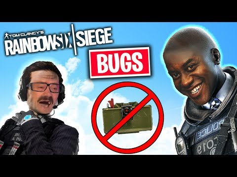 Rainbow Six Siege but only bugs and glitches...