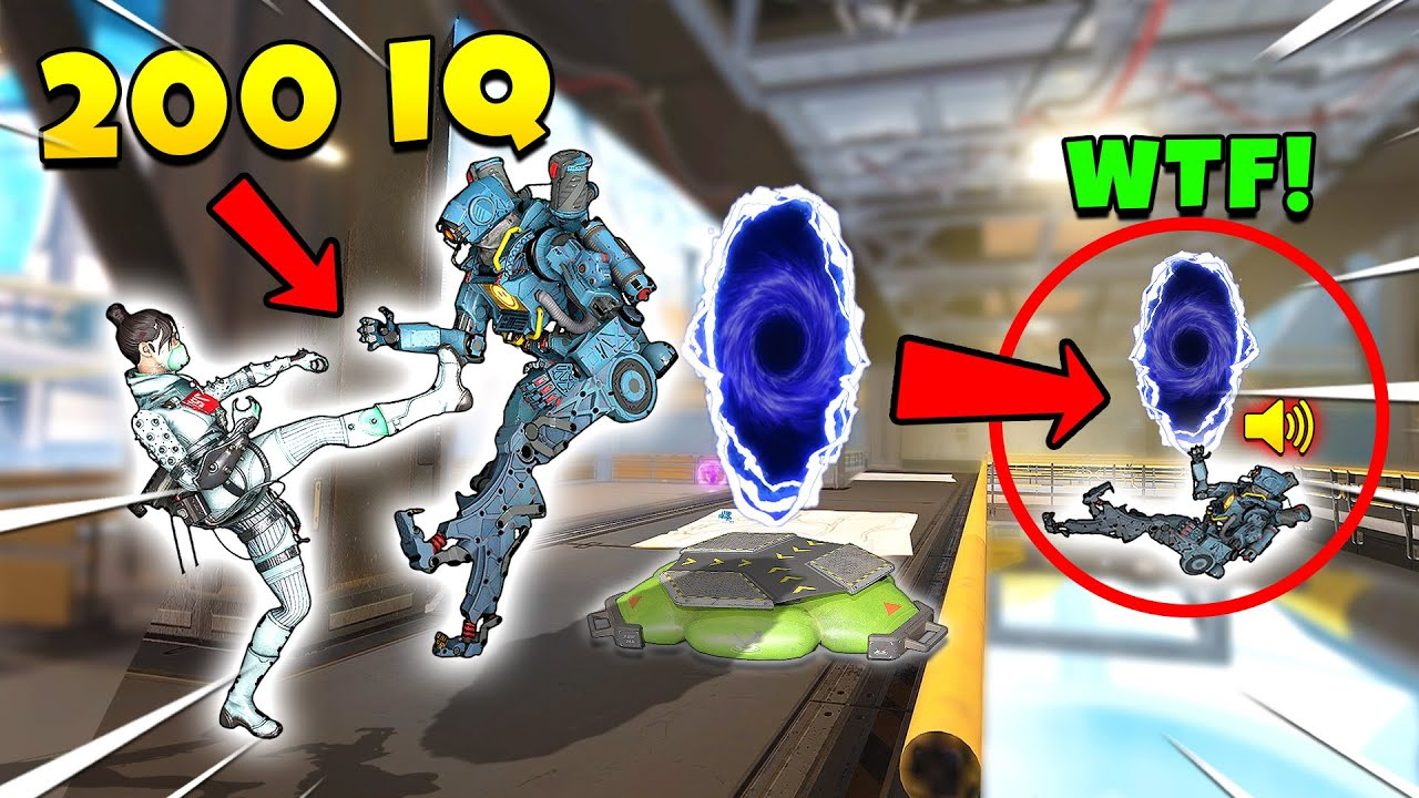 *NEW* Portal Trick is Hilarious and Completly BROKEN! - Top Apex Legends Funny & Epic Moments #703
