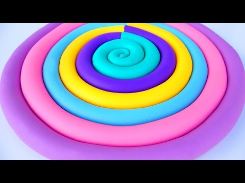 Learn Colors Play Doh Popsicles Ice Cream DIY Finger Family Nursery Rhymes Body Paint  Mighty Toys