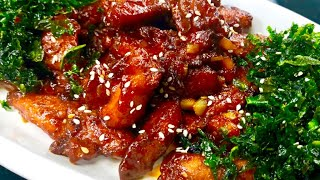 चायीनीज़ क्रिस्पी हनी गार्लिक चिकन | Chinese Crispy Honey Garlic Chicken| Chinese Chicken recipe