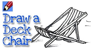 How To Draw A Deck Chair Real Easy - Spoken Tutorial