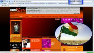 indian music website hacked by dark hacker