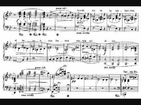 Liszt, Harmonies poétiques et religieuses - 2. Ave Maria