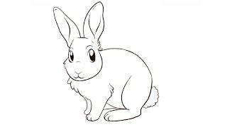 How to Draw a Rabbit / Как нарисовать кролика(Drawing Channel - https://www.youtube.com/channel/UCaZm6IvtL9zNeDwQi571asA/videos Канал для рисования ..., 2015-04-25T10:56:42.000Z)