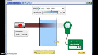 ap chemistry solutions molarity and beer s law