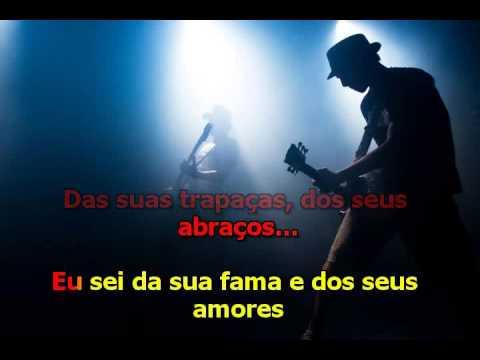 Roberto Carlos  - Jogo de Damas - karaoke
